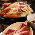 ジンギスカン 一人前  1000円 追加おかわりラム肉 650円 追加おかわり野菜 350円